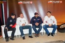 Konferencja Poland National Team przed rajdem